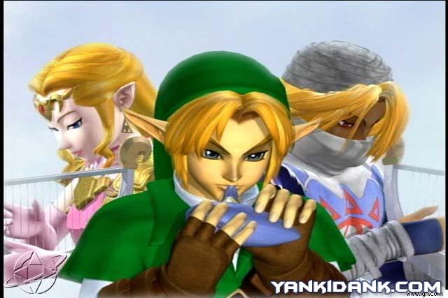 Note Zelda e Sheik são a mesma pessoa...