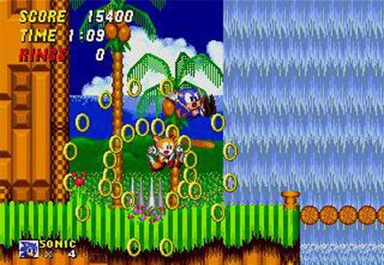 Uma das minhas mongolices mais comuns jogando Sonic. #sonicfail