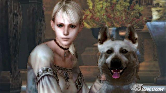 Fiona (a histérica) e Hewie (meu herói canino)