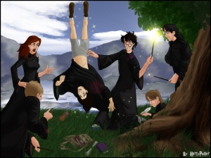 Snape's worst memory.