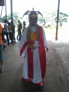 Até o Mestre do Santuário apareceu...