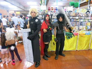 FFVII: Cloud, Vincent e Zack