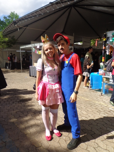 Princess Peach e Mario