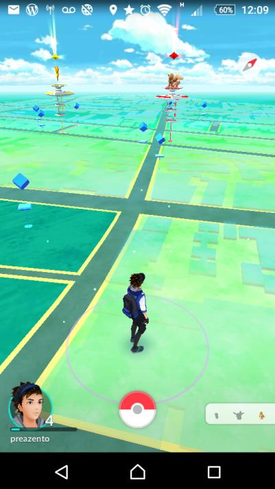 De boas procurando os pokemons